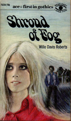 Shroud of Fog Willo Davis Roberts Ace Gothic Fiction Thriller Suspense 1st Ed
