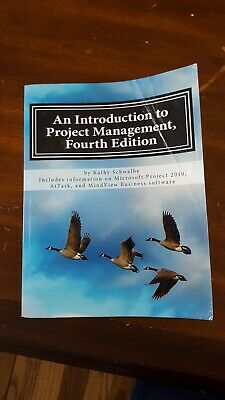 an introduction to project management fourth edition by kathy schwalbe