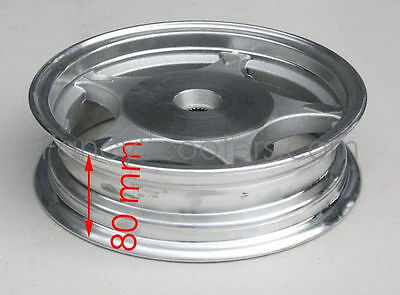 "Aluminium 10"" Rear  Rim 2.50 x 10 for 150cc TPGS-811 Gas Scooter DOT PART12M037"