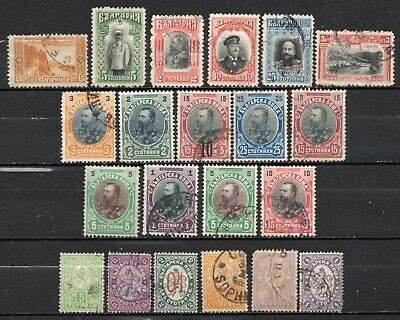 Bulgaria very nice mixed era collection ,stamps as per scan(6598)
