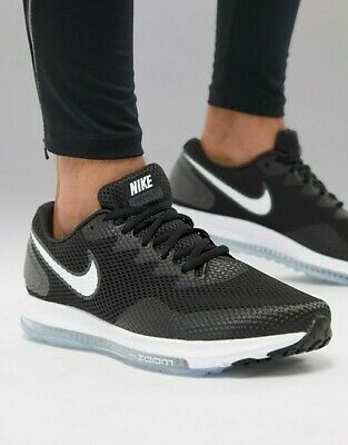 5f9955397296 Mens Nike Air Zoom All Out Low 2 Black White Training Running Athletic Shoes