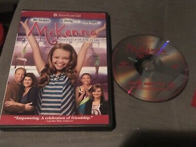 An American Girl: McKenna Shoots for the Stars DVD