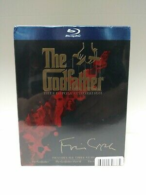 The Godfather Trilogy Collection The Coppola Restoration Blu-Ray Set BRAND NEW