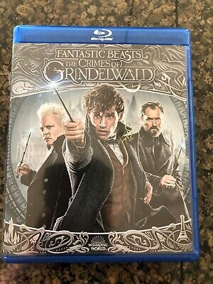 Fantastic Beasts: The Crimes of Grindelwald Blu-ray + DVD + Digital 2019