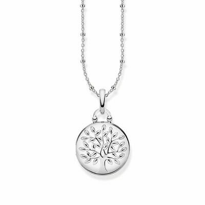 Thomas Sabo - Silver Tree of Life Locket (Round)