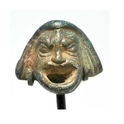 A Roman Actor's Mask Applique, Roman Period,1st - 2nd century A.D.