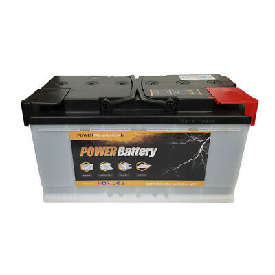 Batterie décharge lente Power Battery 12v 130ah