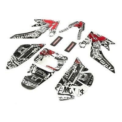 Kit Grafiche Adesivi One Industrie Completo X Pit Bike Crf 70 125cc 140cc 150cc