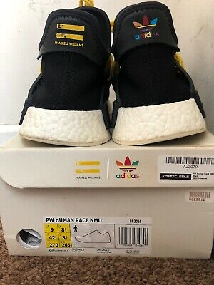 ea28686136242 ADIDAS BB3068 NMD Pharrell PW Human Race Black Yellow US 9 -  330.00 ...