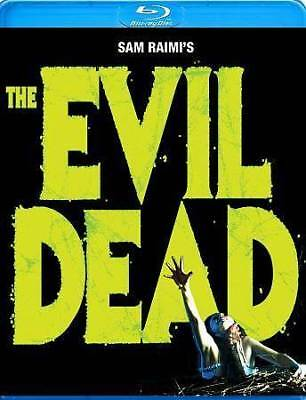 The Evil Dead (Blu-ray Disc, 2010) BRUCE CAMPBELL, GREAT SHAPE