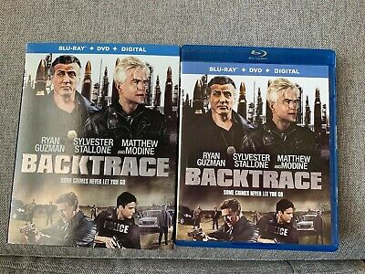 Backtrace (Blu Ray 2018 2019) BLU RAY DISC & CASE ONLY ⬇️Read⬇️