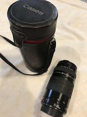 Canon Zoom Lens EF 75-300mm  1:4-5.6  Ultrasonic