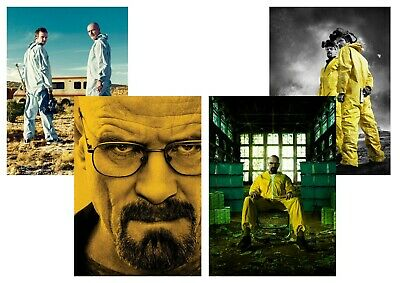 Breaking Bad: Walter White  A5 A4 A3 Textless T.V. Posters