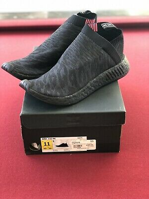 d04682bd47463 Adidas Originals NMD CS 2 Primeknit Black Boost City Sock Pink CQ2373 Size  11