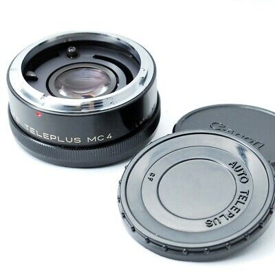Kenko 2x CFE Teleplus MC4 Teleconverter Lens for Canon FD Mount From Japan