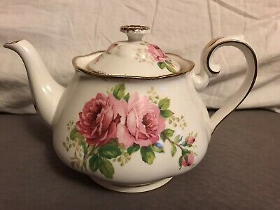 Royal Albert American Beauty Teapot England 1# Quality Excellent Condition