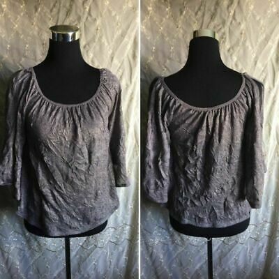 6425280f1264c NWT WILLOW & CLAY Checkered Print Button Front Top Shirt Blouse S ...