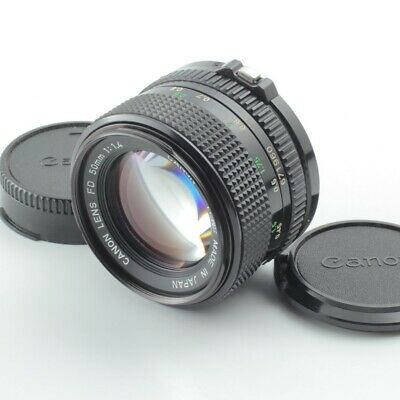 Canon New FD NFD 50mm f/1.4 MF Manual Focus Prime Lens From Japan [Near Mint]