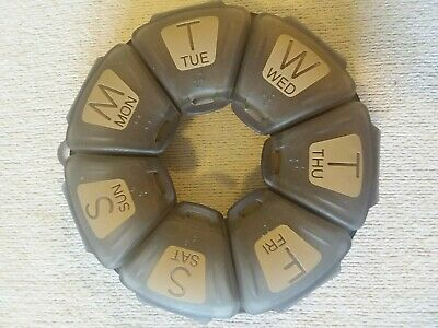 7-Day Pill Organizer, Pillnut7 Weekly Pill Box Pill Planner for Daily Medication