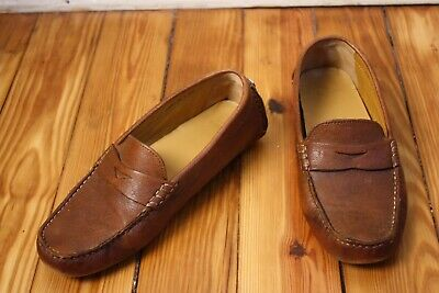 18ac0f02dd5 COLE HAAN 7 B Trillby Driver Brown Leather Penny Loafers -  28.48 ...