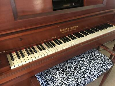 Piano/Pianola Foster & Co, NY - refurbished