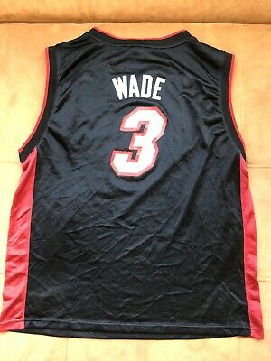 promo code 49bc2 c5c3a AUTHENTIC ADIDAS DWAYNE Wade Jersey #3 Miami Heat Size Youth XL 18-20