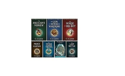 The Chronicles of Narnia Complete 7 PDF Book Set by C.S Lewis: Read Description!