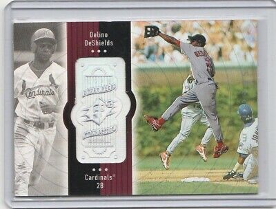 Delino DeShields 1998 SPx Finite Spectrum #121 Cardinals /2250