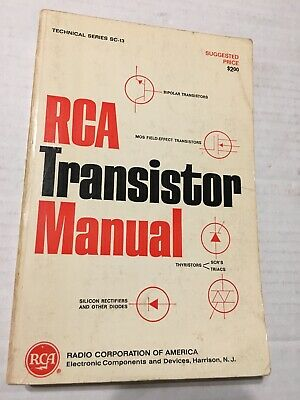 RCA # SC-13 Transistor Manual 1967, Good Condition 545 pages