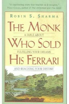 NEW The Monk Who Sold his Ferrari by Robin Sharma Paperback (Free Shipping)