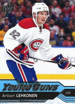 2016-17-U.d.young Guns Rookie- # 232- Artturi Lehkonen  Rookie Card Montreal