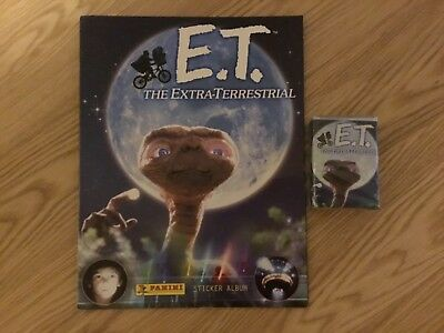 E.T. STICKER ALBUM COMPLETE WITH ALL STICKERS (Not Inserted) By PANINI