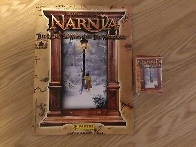 NARNIA STICKER ALBUM COMPLETE WITH ALL STICKERS (Not Inserted) By PANINI