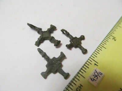 Ancient bronze crosses Kievan Rus Vikings 12-13 AD №430/11