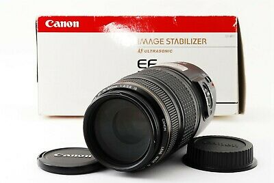 Canon EF 75-300mm f/4.0-5.6 f/4-5.6 IS USM Lens w/box Excelelnt++ from Japan
