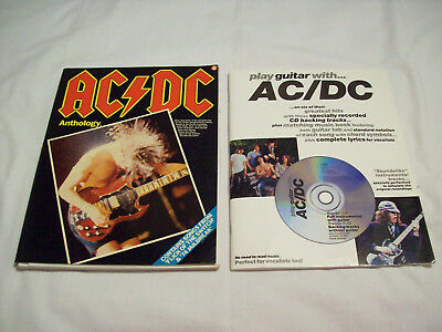 Play Guitar with AC/DC and AC/DC Anthology Music Books