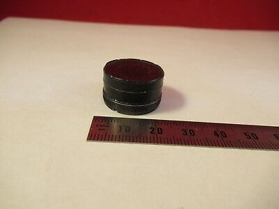 Optical Mounted Reticle Micrometer Microscope Part As Pictured &39-A-56