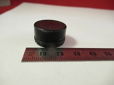 Optical Mounted Reticle Micrometer Microscope Part As Pictured &39-A-57