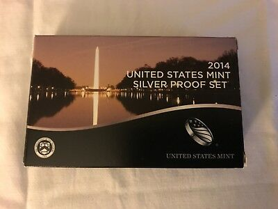 2014 S US Mint Silver Proof 14 Coin Set