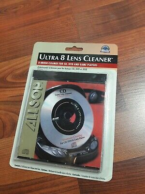 Laser Lens Cleaner for DVD CD Game Players with Eight Brush ultra 8 lens cleaner