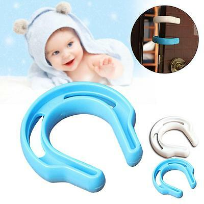 Door Finger Safety Guard Slip On Bumper Stop Child Baby Pet Protect Proof New LG