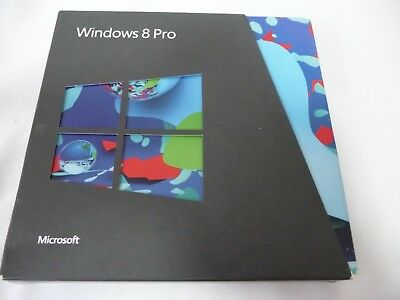Windows 8 Pro operating system for older computers pre owned in good condition