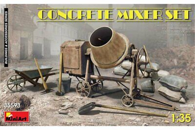 MINIART 35593 1/35 Concrete Mixer Set
