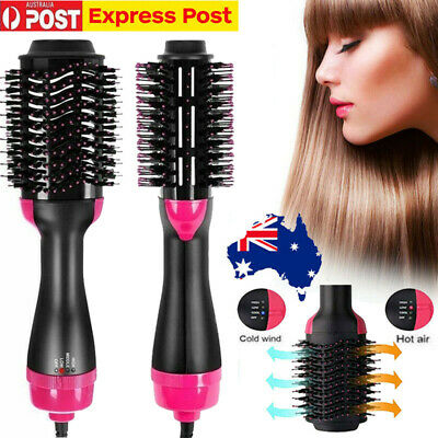 3 In1 One Step Hair Dryer Comb & Volumizer Pro Brush Straightener Curler Curling