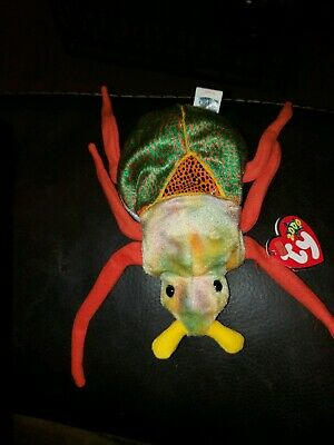 8cd0f79414f SCURRY TY BEETLE BUG BEANIE BABY 9