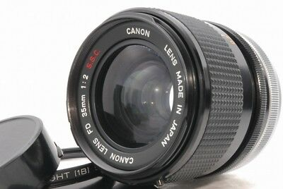 *Read Canon FD 35mm f/2 f 2 S.S.C. SSC Lens *111953