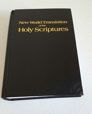 New World Translation of the Holy Scriptures Bible Jehovahs Witness Watchtower