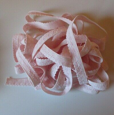 PALE PINK KNICKER ELASTIC - 5m by 12mm