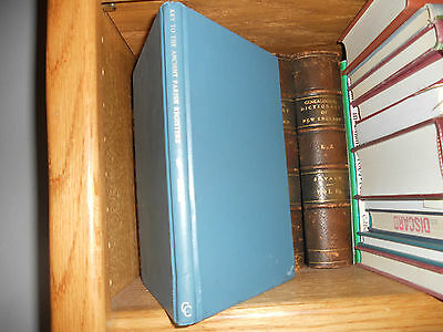 Key To The Ancient Parish Registers of England And Wales Burke Genealogy Book
