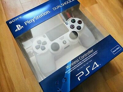 Sony PlayStation DualShock PS4 Controller - Glacier White - New and Boxed